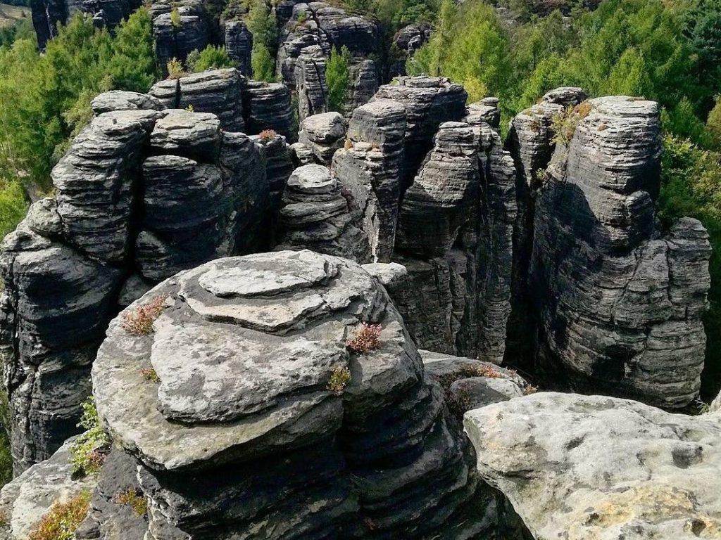 Treasure Hunt skalní město Tisá - Ústecký kraj